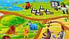 Детский игровой коврик для ползания ребенка «Happy Kinder» XXXL 3000х1200x8 мм, фото 3