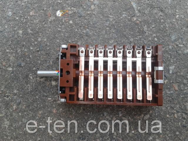 Перемикач ПМ 08000 (42.08000.025) восьмипозиционный для електроплит і духовок EGO, Німеччина