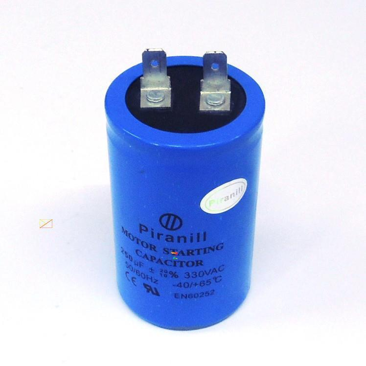 Пусковой конденсатор 400 мкФ 330 V CD60 для электродвигателя