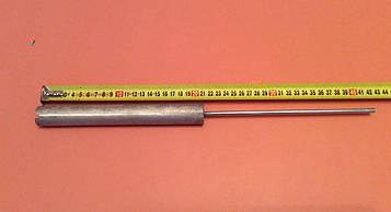 Анод магнієвий Італія Ø26мм / L=210мм / різьблення M6*210мм оригінал