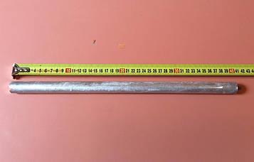 Анод магнієвий Італія Ø21мм / L=400мм / різьблення M6*10мм оригінал
