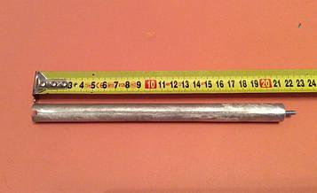 Анод магнієвий Італія Ø16мм / L=210мм / різьблення M4*10мм оригінал