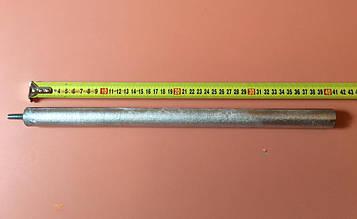 Анод магнієвий Італія Ø26мм / L=400мм / різьблення M8*12мм оригінал