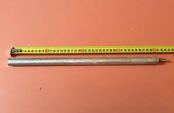 Анод магниевый Италия Ø21мм / L=400мм / резьба M8*25мм оригинал