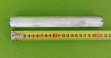 Анод магнієвий Італія Ø26мм / L=210мм / різьблення M6*10мм оригінал