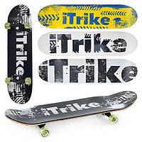 Скейт спортивный полупрофессиональный ITRIKE MS 0356