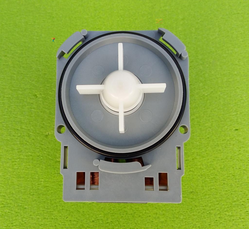Насос/помпа ASKOLL модель M114 / 25W / 230V / на 3 защелках (контакты сзади) на стиральную машину Италия