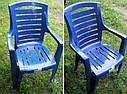 Набор пластиковой мебели. Стол и стулья. 4 Луч Круглый, фото 8