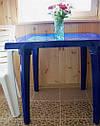 Набор пластиковой мебели. Стол и стулья. 4 Луч Круглый, фото 9