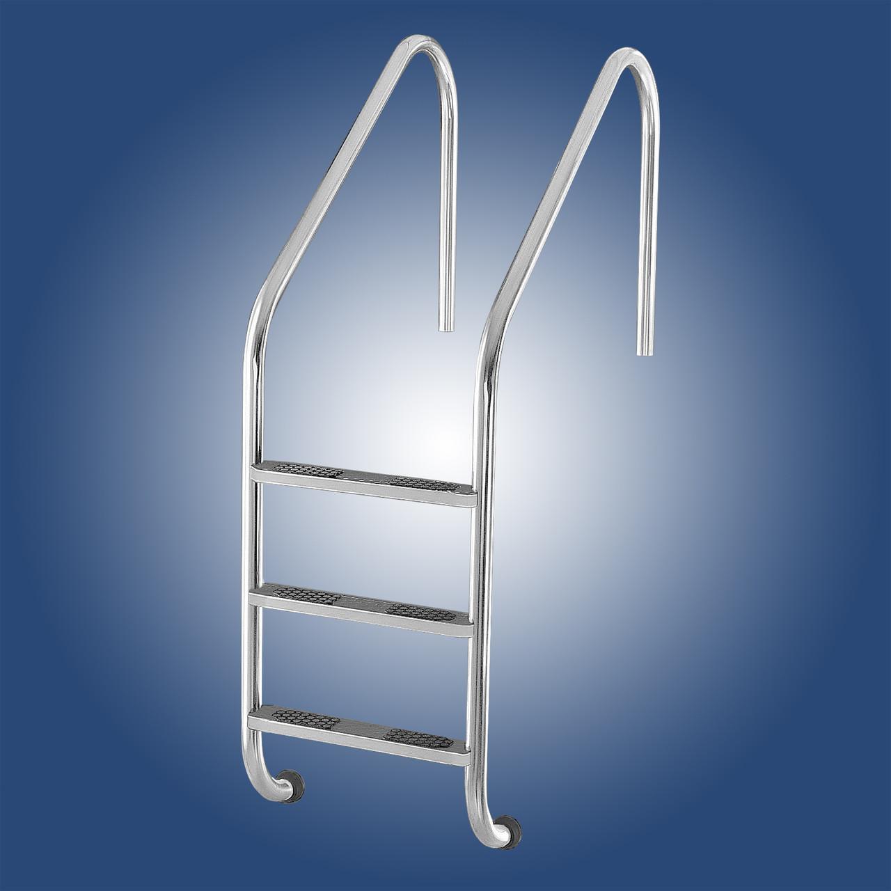 Лестница в бассейн Lux Standart 2 ступеньки