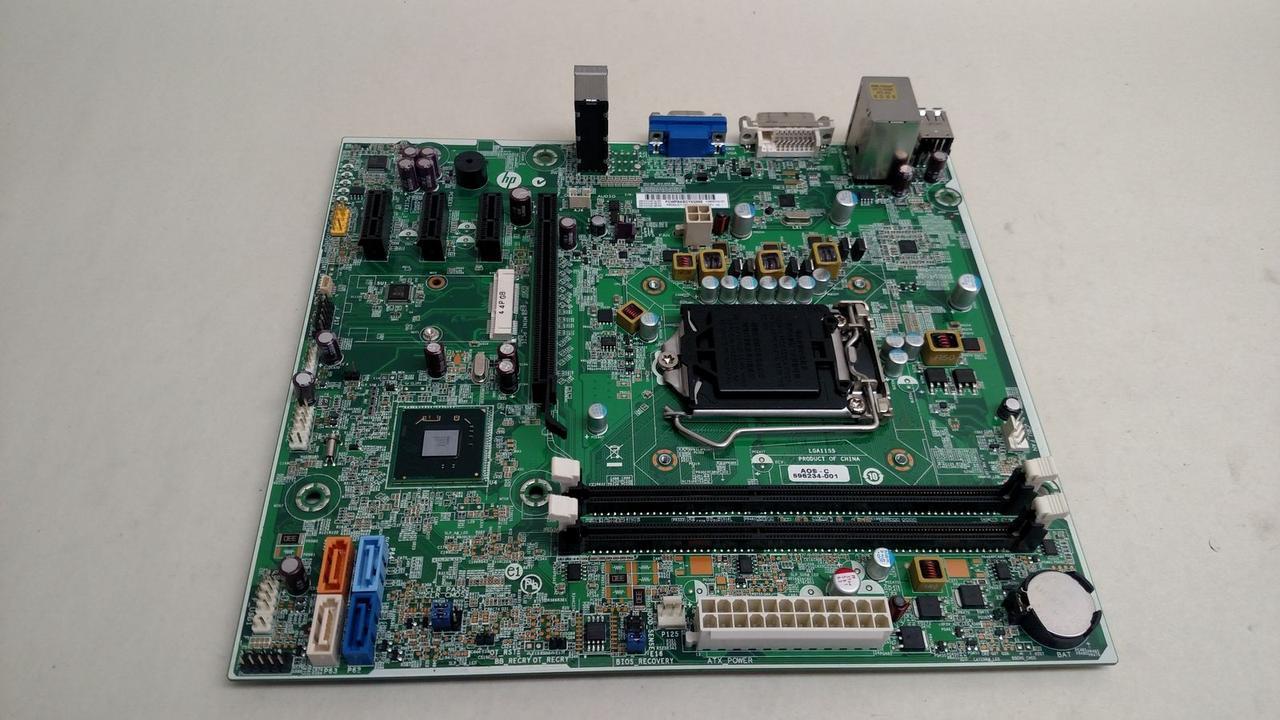 Материнская плата HP 696234-001 Pro 3500 LGA 1155/Socket H2 DDR3 SDRAM -  Bigl ua