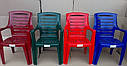 Пластиковые стол, стулья. 4 Луч Круглый, фото 7