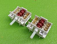 Переключатель режимов двойной семипозиционный 5HE / 555 для электроплит, электродуховок DREEFS, Италия