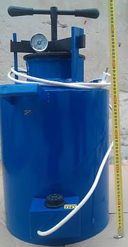 Автоклав электрический МАКСИ (синий) для домашнего консервирования h=70см