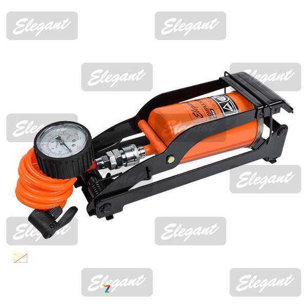 Насос ножной Elegant Maxi cо съёмным манометром EL 100 342