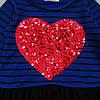 """Платье """"Сердце"""" для девочки. 86-92 см, фото 2"""