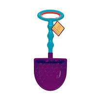 Игрушка для игры с песком - БОЛЬШАЯ ЛОПАТКА (цвет сливовый-морской)
