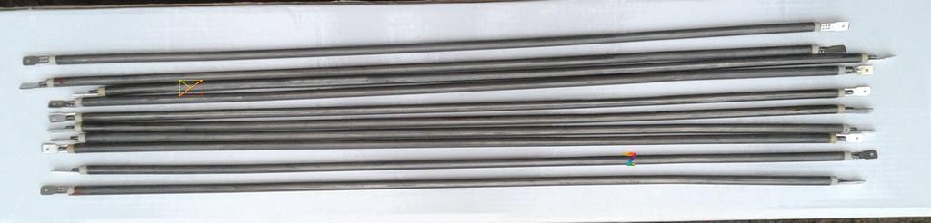 Тэн гибкий прямой (воздушный) Ø6,5мм / 1100W / L= 110см из нержавейки Sanal, Турция