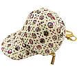Брелок сумочка кепка текстильная, фото 4