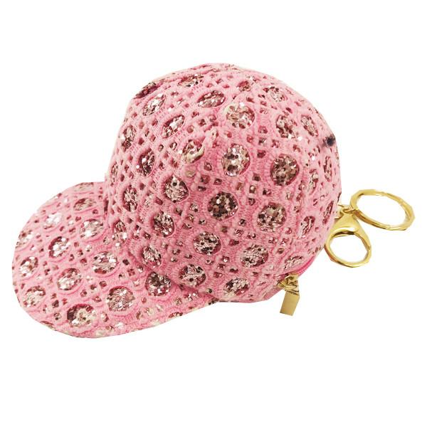 Брелок сумочка кепка текстильная