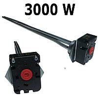 ТЭН для чугунного радиатора БАТАРЕИ 3000 w с регулятором