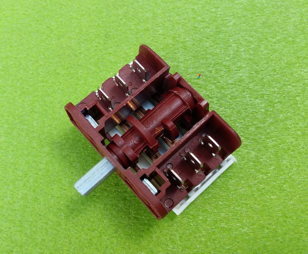 Перемикач чотирьохпозиційний BC3-09 / 16А / 250V / Т150 для електроплит Туреччина