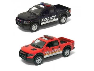 Автомодель Металлическая 1:46 2013 Ford  (Police) Kinsmart