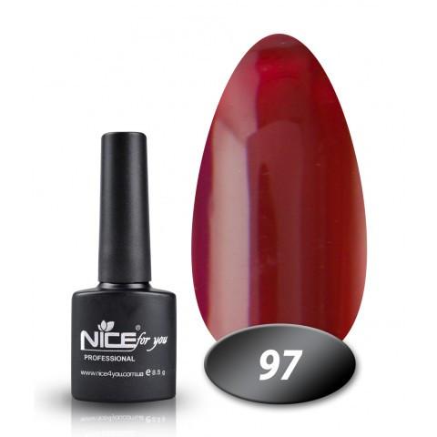 Гель лак Nice for you 8.5ml, №97