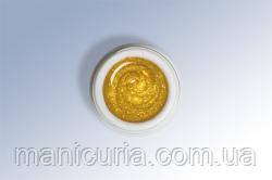 Exclusive Glitter gel-073 Золотой, 6 ml, Le Vole