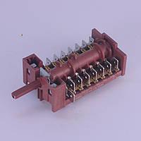 Переключатель 870801 (1033941) режимов для духовки Hansa, 7-ми позиционный