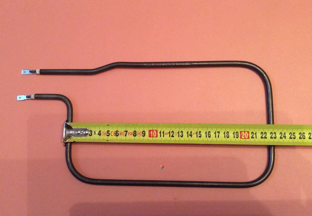 Тэн (нагреватель) для хлебопечки 700W / 230V / из нержавейки Ø6,5мм (235мм*145мм) Sanal, Турция