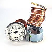 Термометр 0 160°С с выносным датчиком 2 м Ø60, Pakkens Турция
