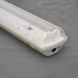 City 2х1500 линейный светильник IP65 с крышкой под LED (ЛЕД) лампы Т8 1500 без ПРА