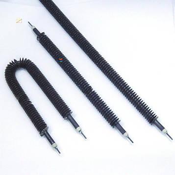 Тэн 2500 Вт 78 см оребренный прямой Ø 13 мм / 33 мм