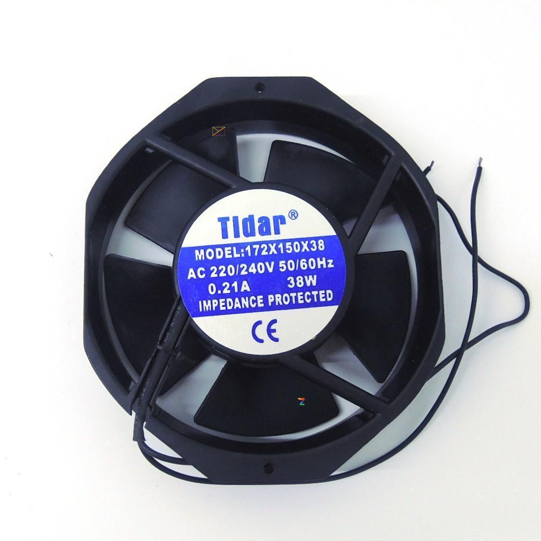 Вентилятор 220 V 172x150x38 (0.21A/38W)