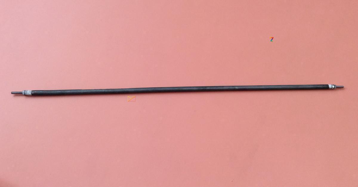 Тен ГНУЧКИЙ прямий повітряний Ø8,5мм / 300W / довжина L=30см з нержавійки Balcik, Туреччина