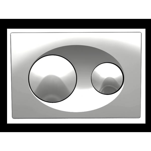 Панель смыва Koller Pool Grace Chrome