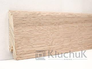 Плинтус Kluchuk Евро KLE60-02 Дуб Выбеленный 60мм