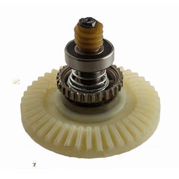 Шестерня электропилы пластиковая в сборе (подпружиненая)