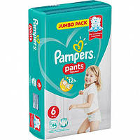 Подгузники-трусики Pampers Pants 6 (15+ кг) 44 шт