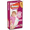 Подгузники-трусики Huggies Pants 6 (15-25 кг) Mega Girl 36 шт