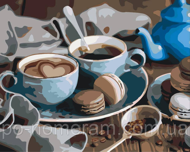 раскраски по номерам кофе купить в Киеве