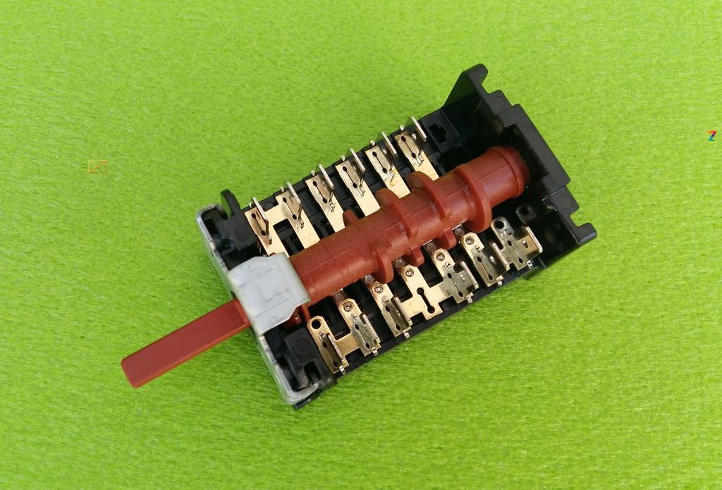 Переключатель шестипозиционный 860501K / 16А / 250V / Т150 для электродуховок CANDY, ORION 7LA GOTTAK, Spain