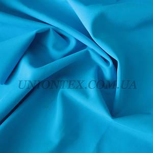 Трикотаж бифлекс (купальник) матовый голубая бирюза