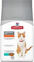 Сухой корм Hills (Хиллс) Science Plan Young Adult Sterilised Cat корм для кошек с тунцом