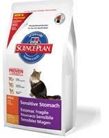 Сухой корм HILLS (Хиллс) Feline Adult Sensitive Stomach (курица) - для кошек с чувствительным желудком