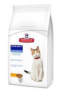 Сухой корм HILLS (Хиллс) Feline Mature Adult 7+ (курица) - для пожилых кошек