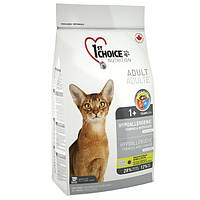 Фест Чойс гипоаллергенный корм для котов с уткой и картошкой 1st Choice Hypoallergenic