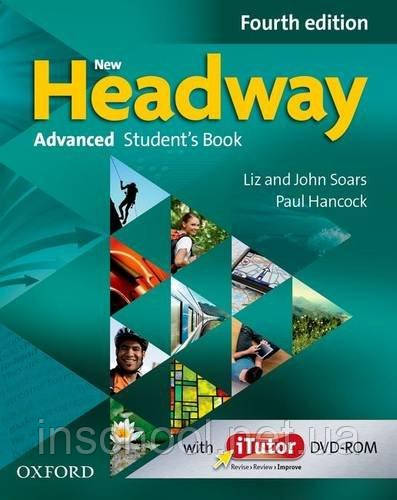 New Headway Fourth Edition Advanced Student's Book with iTutor DVD-ROM ISBN: 9780194713535