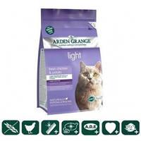 Arden Grange Корм для кошек диетический, низкокалор. со свежей курицей и картофелем  беззерновой